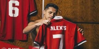 Alexis Sanchez diumumkan secara resmi sebagai pemain baru Manchester United pada Senin (22/1/2018) .(Foto: Twitter/ManUtd)