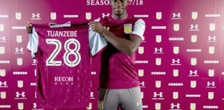 Manchester United melepas talenta mudanya Axel Tuanzebe ke Aston Villa
