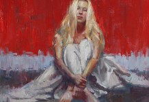 Henry Asencio 1972 - Ameican Abstract Expressionists painter. Foto: Dok. tuttartpitturasculturapoesiamusica.com