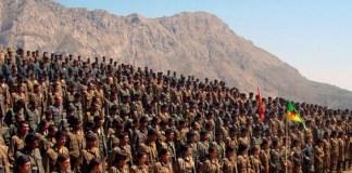 Ilustrasi Pasukan Bersenjata Kurdi/Foto: kurdishquestion.com