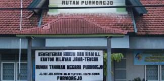 Rumah Tahanan (Rutan) Purworejo. Foto: Istimewa