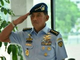 Marsekal Madya Yuyu Sutisna resmi menjabat sebagai Kepala Staf Angkatan Udara (KSAU). Foto: Puspen TNI