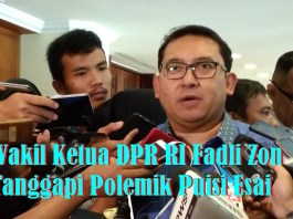 Wakil Ketua DPR RI Fadli Zon. (Ilustrasi Foto: NUSANTARANEWS.CO/Achmad S)