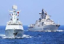 Ilustrasi kapal Perang Cina/Foto Sputnik