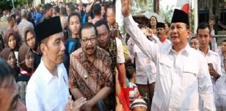 Joko Widodo dan Prabowo Subianto dinilai masih menjadi dua kandidat kuat calpres 2019. (Foto: Istimewa)