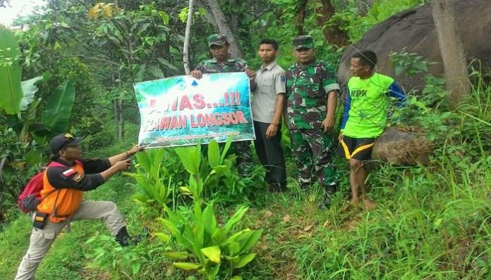 bekas longsoran jurang Ondo di Dlopo, Kepel, Kecamatan Ngetos