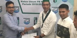 Muhammad Ridal Serahkan Berkas Pencalonan Ketua Umum PB HMI (Foto Istimewa)