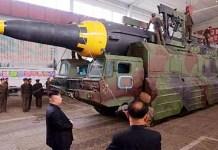 Rudal Balistik Nuklir Korea Utara/Foto: CNN.Com