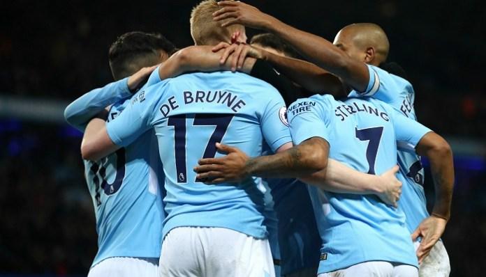 Manchester City sudah di ambang pintu juara Liga Primer musim 2017/2018.