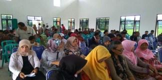 BNN Kediri menggelar sosialisasi pencegahan bahaya narkoba di balai Kelurahan Tosaren, Senin (12/3/2018). (Foto: Istimewa)