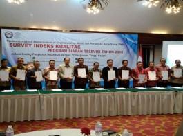 Komisi Penyiaran Indonesia (KPI) pada tahun 2018 menggandeng 12 perguruan tinggi untuk mengawal siaran televisi. (Foto: Ahmad S/NusantaraNews)