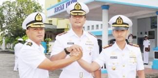 Kolonel Laut (P) Deny Septiana resmi menjabat Direktur Pendidikan dan Latihan (Dirdiklat) Komando Pembinaan Doktrin Pendidikan dan Latihan TNI Angkatan Laut (Kodiklatal). (Foto: Dok. Koarmabar)