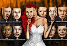 Woman Digital Art - Many Faces Of Woman by Steve Zabrocki. (FOTO: Fine Art America)
