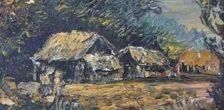 Pedesaan (Indonesian Village Oil Painting on Board )