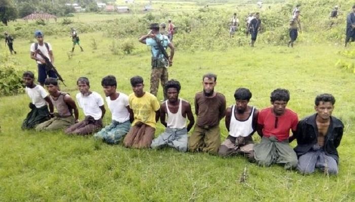 Bungkam atas Penindasan Rohingya, Aung San Suu Kyi Kembali ... NusantaraNews.co Warga Rohingya menjadi korban kebrutalan aparat Myanmar. (Handout via REUTERS)