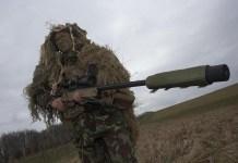 Penembak Runduk unit khusus Angkatan Darat Inggris (SAS). (Foto: Alamy)