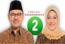 Pasangan calon gubernur dan wakil gubernur Jawa Tengah (Jateng) Sudirman Said-Ida Fauziah. (Foto: Dok. NusantaraNews)