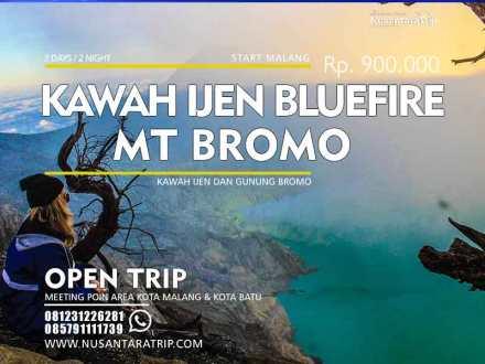 Open Trip Ijen Bromo, Paket wisata Kawah Ijen Bromo