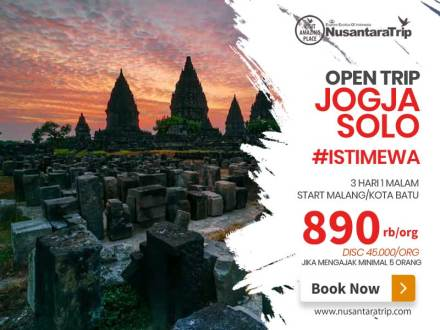 Open Trip Jogja Solo Start Malang