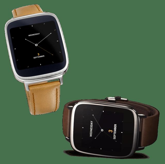 الساعة الذكية اسوس asus zenwatch smartwatch