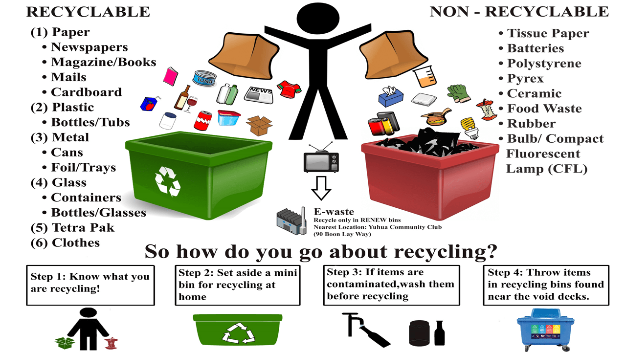 A brief guide to recycling  Why and how to recycle in