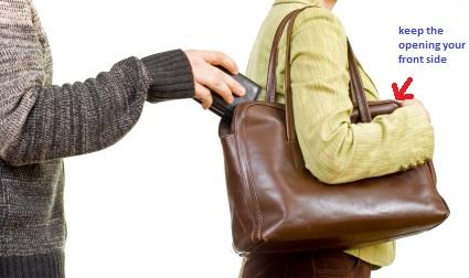 pickpocket lady bag