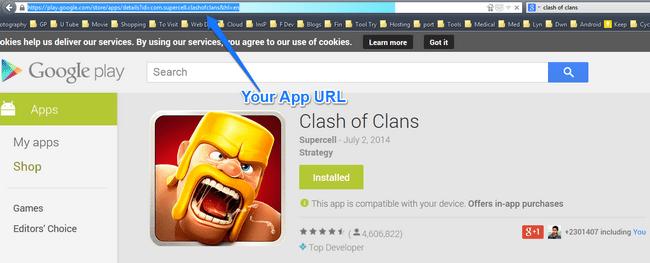 Play Store URL