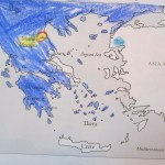 sons map of civilized Greeks