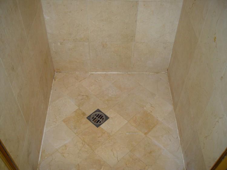 Marble Polishing Crema Marfil Bathroom Stone Restoration