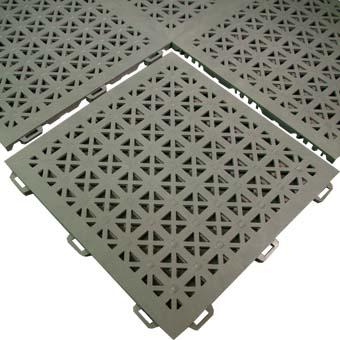 Non Slip Flooring  Aergo Flow Perforated Anti Slip Mat