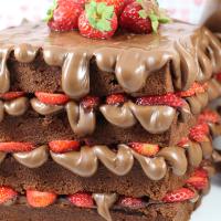 Våffeltårta med Nutella
