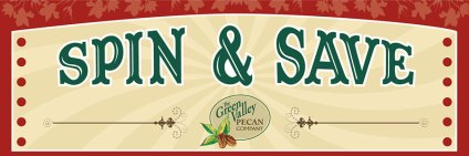 Pecan Store Spin and Save