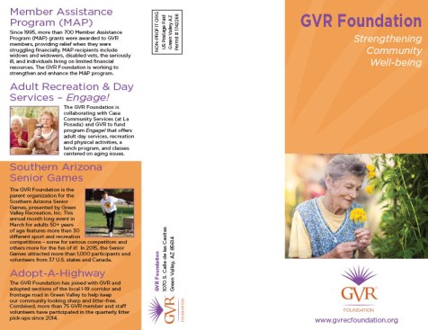 GVR Foundation Trifold side 1