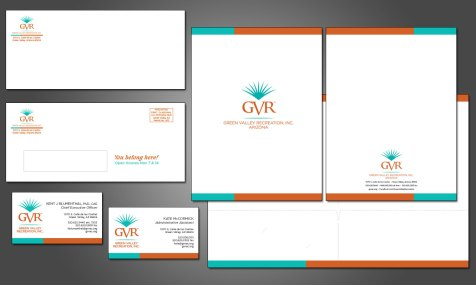 Green Valley Recreation Stationery