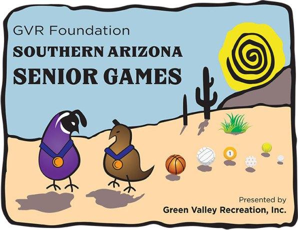 Southern AZ Senior Games Tshirt Graphic