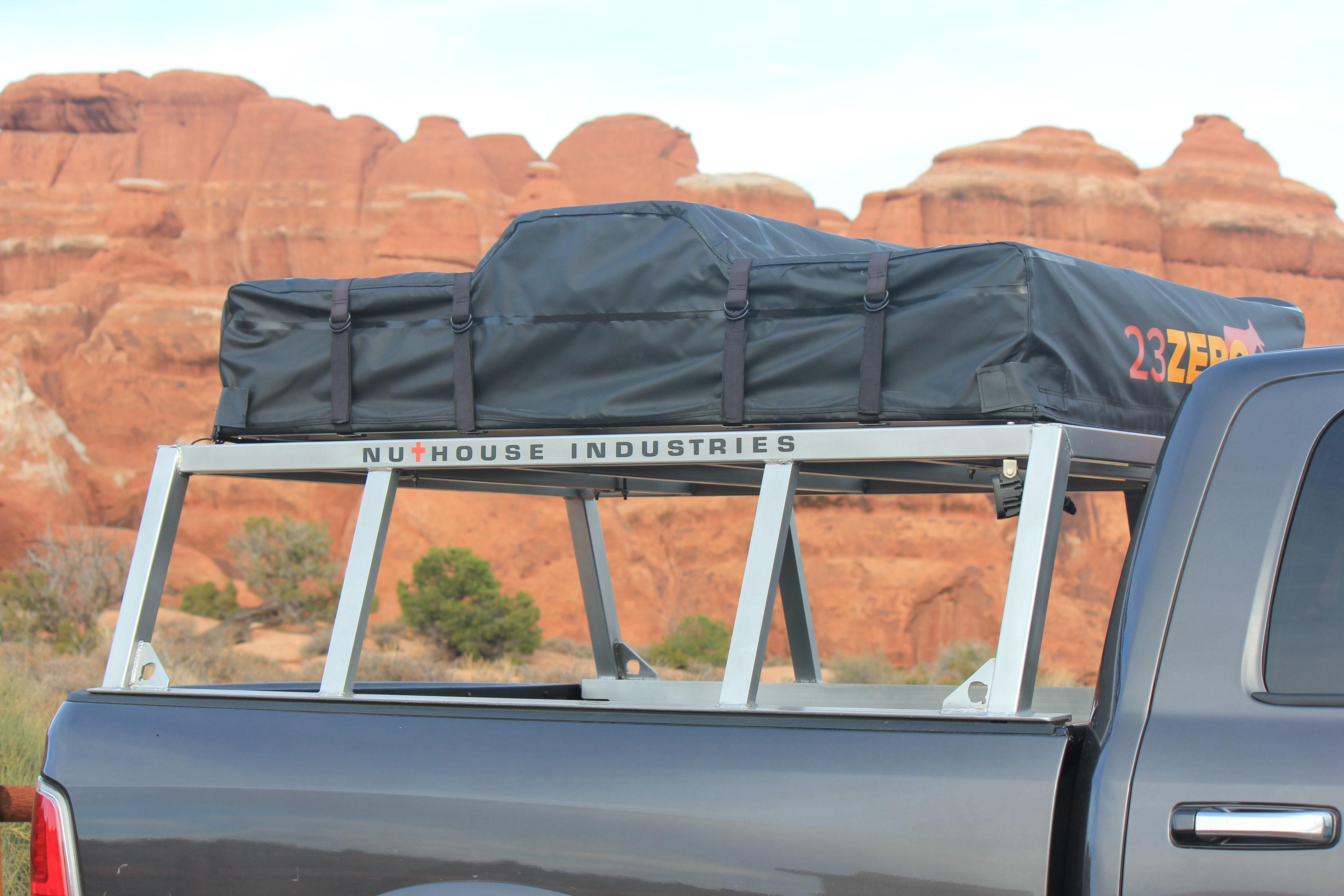 Aluminum Roof Top Tent Rack
