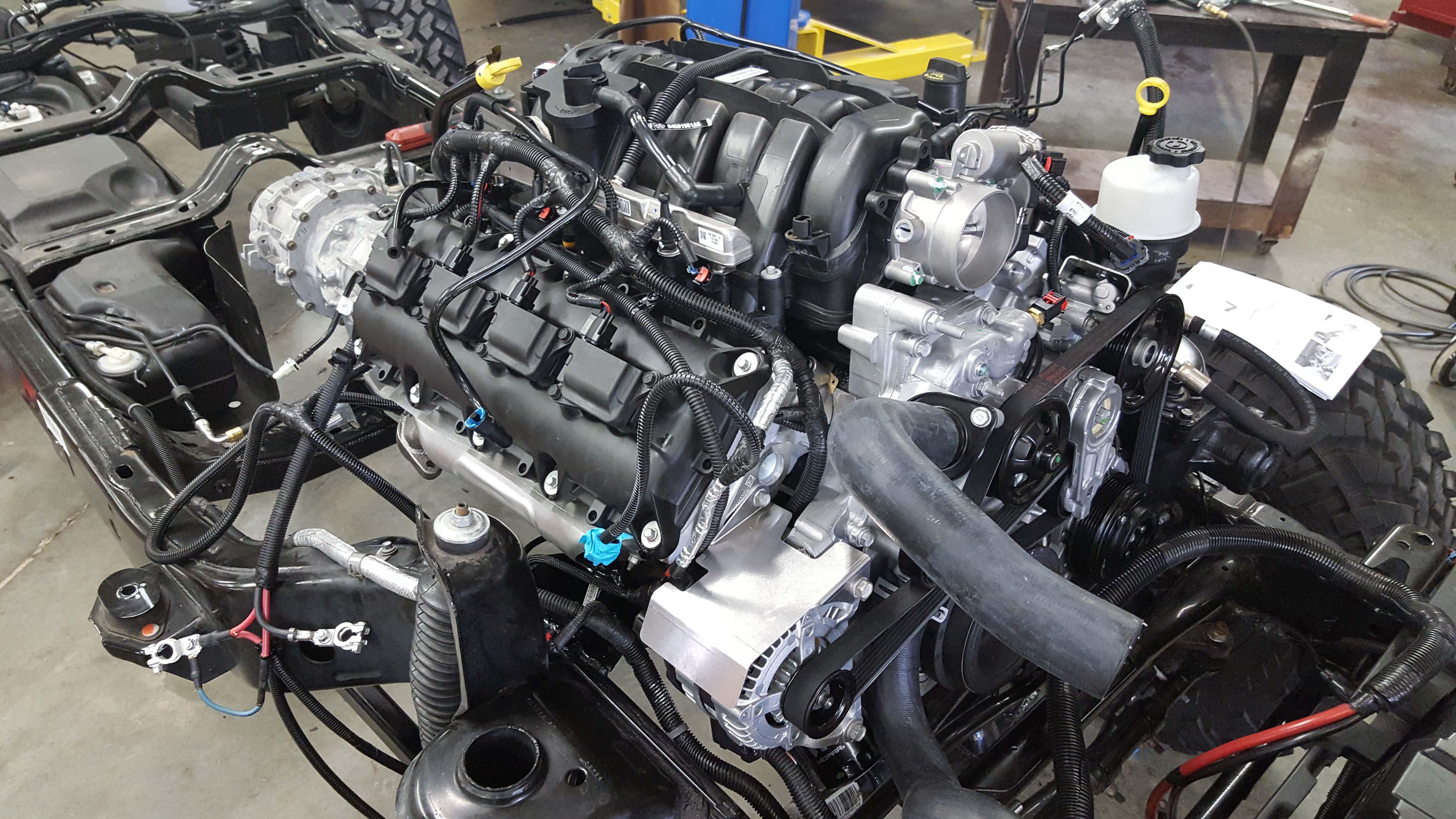 2008 Jeep Wrangler Engine Wiring Harness Jk Hemi Conversion Kit Nuthouse Industries