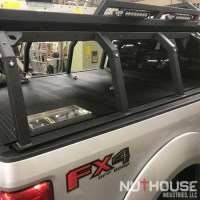 Roof rack storage container