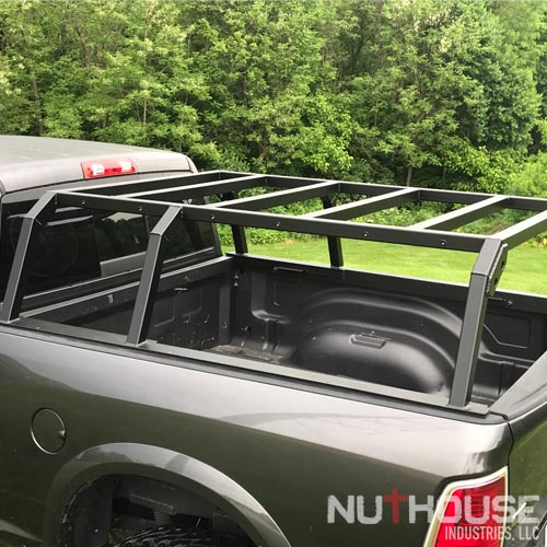 nutzo tech 1 series expedition truck bed rack