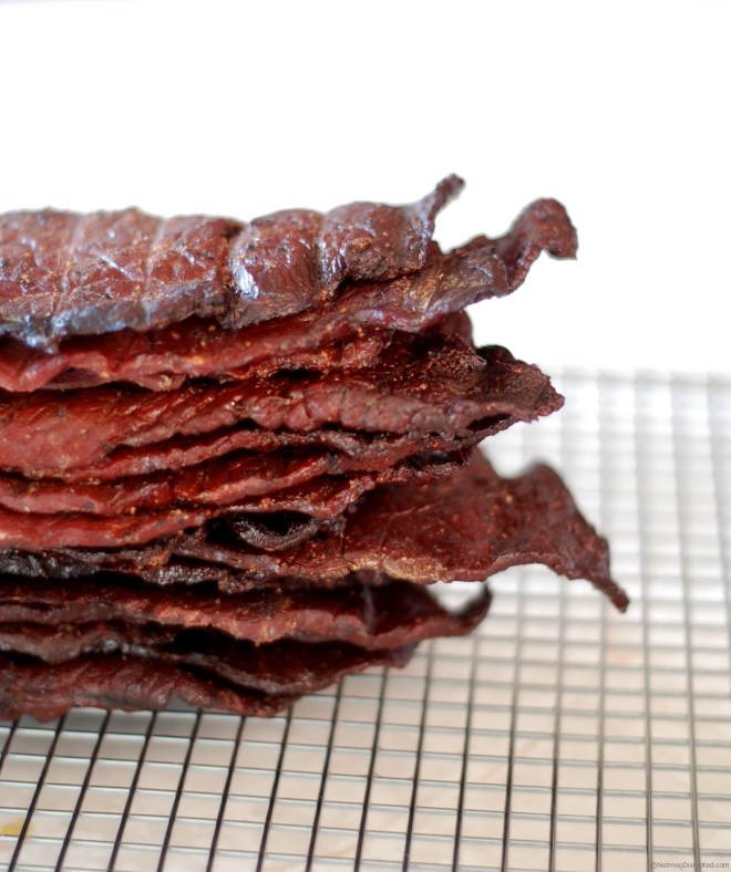 Making beef jerky at home with Alberta Beef.