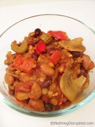 Lentil Chili from Nutmeg Disrupted