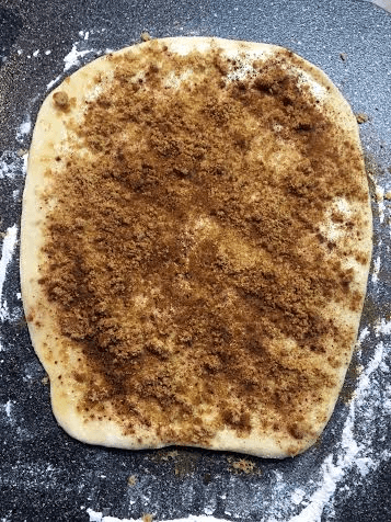 Making cinnamon buns on Nutmeg Disrupted