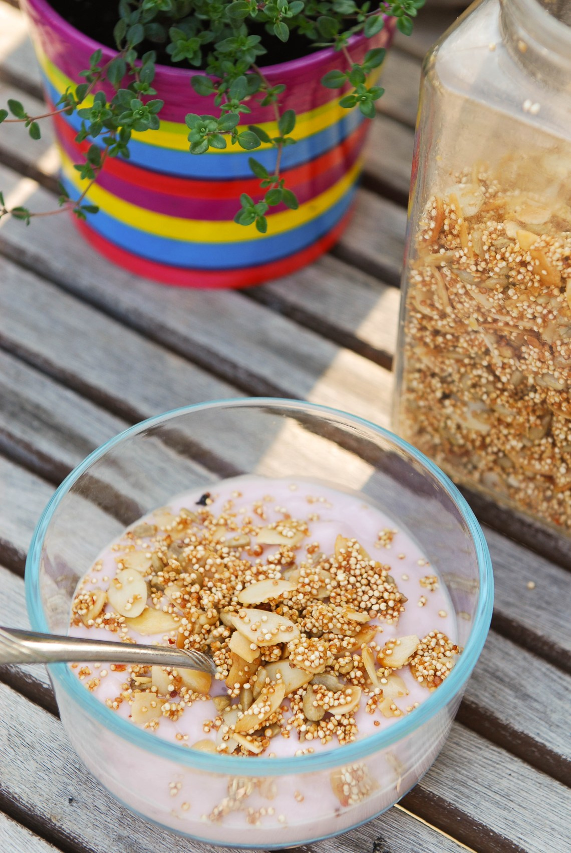 Quinoa crunch cereal from Nourish on Nutmeg Disrupted
