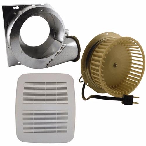 nutone qt80nb bath fan repair replace