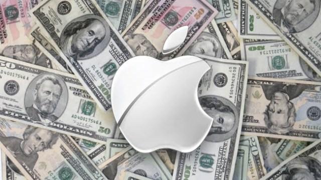 Apple tjänar sjuka pengar