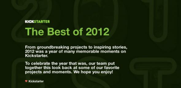 Kickstarter 2012
