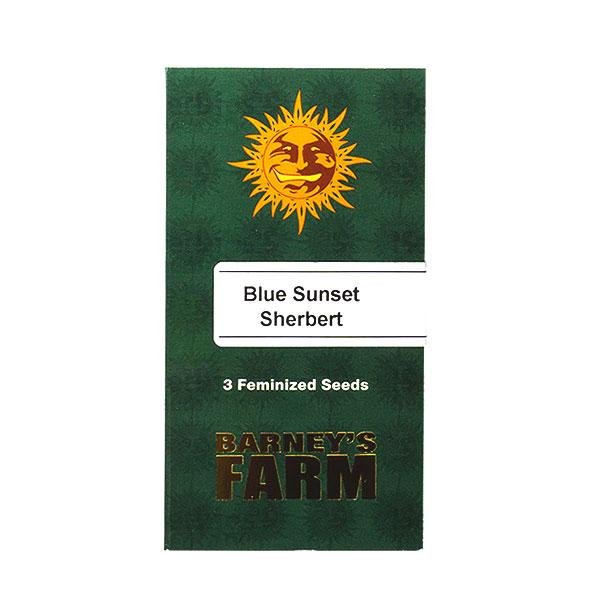 BLUE SUNSET SHERBERT