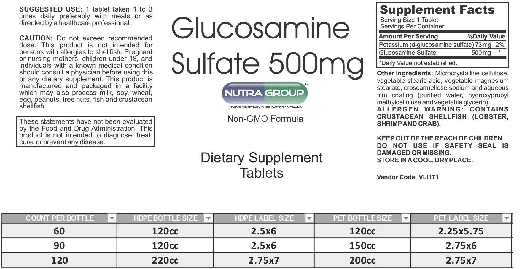 500 Mg To G