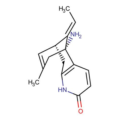 chemical-structure-of-huperzine