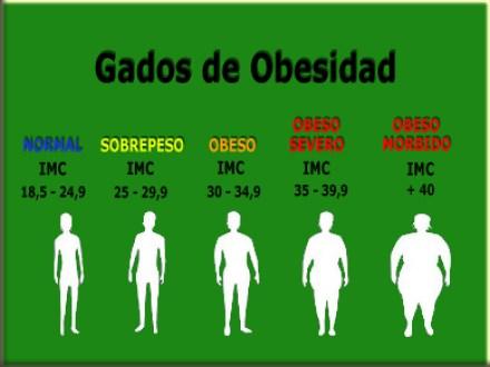 Grados obesidad
